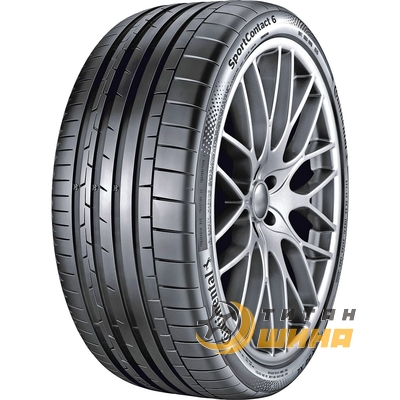 Купить Continental SportContact 6 295/30 ZR21 102Y XL FR
