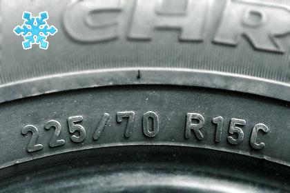 зимняя резина 225/70 R15C
